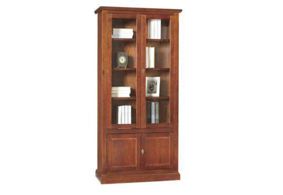 Ιταλική vintage Βιβλιοθήκη - Βιτρίνα ΤΕ-203607