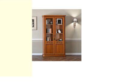 Βιβλιοθήκη με γυάλινα ή ξύλινα ράφια CG-126641