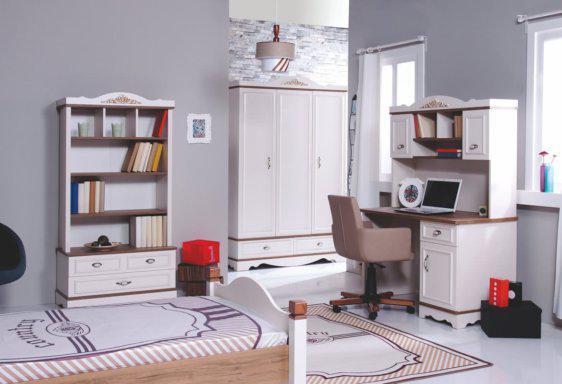 Γραφείο με εταζέρα σε Country style