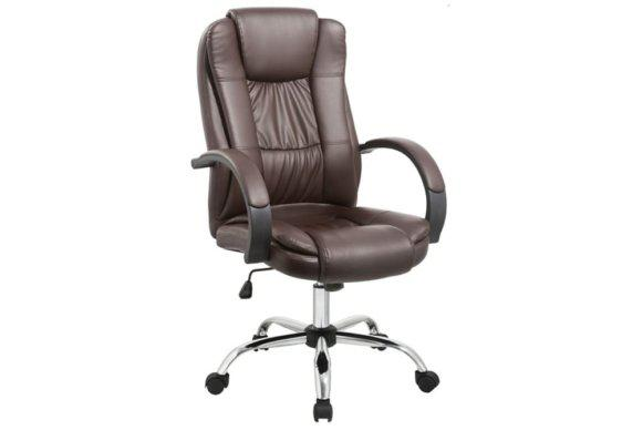 Καφέ Πολυθρόνα Γραφείου Synchro  AG-080395