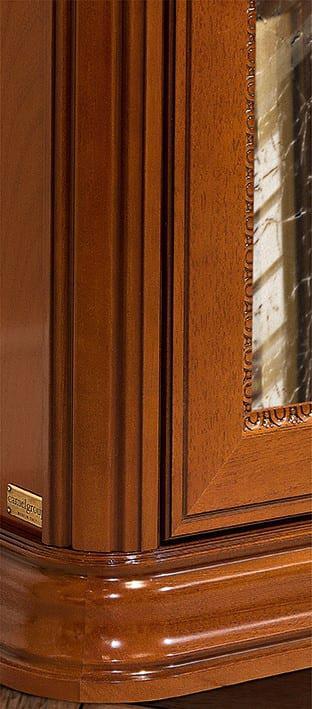 Βιβλιοθήκη - Βιτρίνα με Δύο Πόρτες και Σκαλίσματα CG-126638
