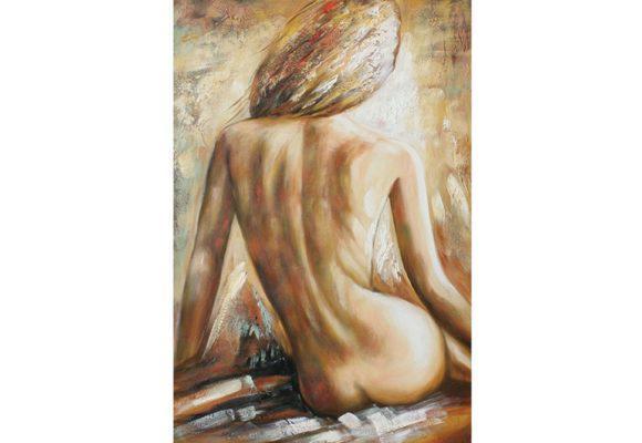 Πίνακας σε Καμβά Γυμνή Γυναίκα Μ-210588