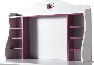 Παιδικό Γραφείο για Κορίτσια Ματζέντα με Ευρύχωρο Ντουλάπι 131564