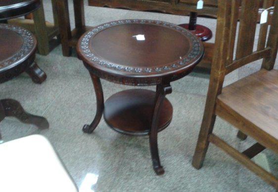 Τραπέζι Σαλονιού Ροτόντα Κλασσικό gen3453-60 115032