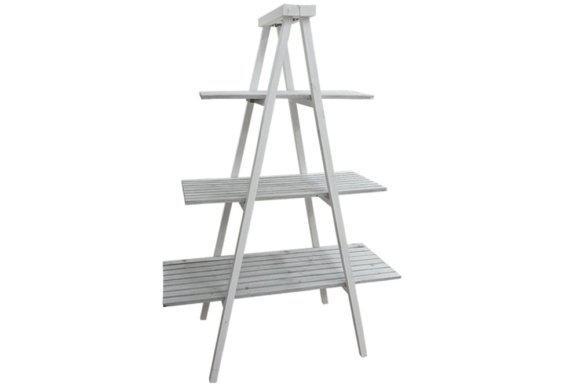 Σκάλα - ραφιέρα με τρία ράφια Μ-217104
