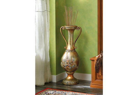 Χρυσός Αμφορέας με Λουλούδια CG-146572