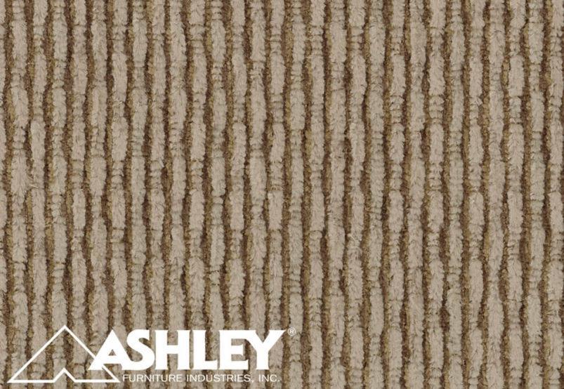 Διθέσιος Καναπές από Ξύλο και Εκρού Ύφασμα Ashley G-105026