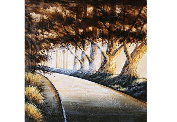 Δρόμος μέσα στο δάσος 100X100 Μ-210599