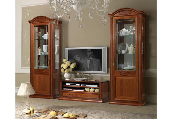Χαμήλο Έπιπλο Εισόδου - TV με Ράφια CG-900011