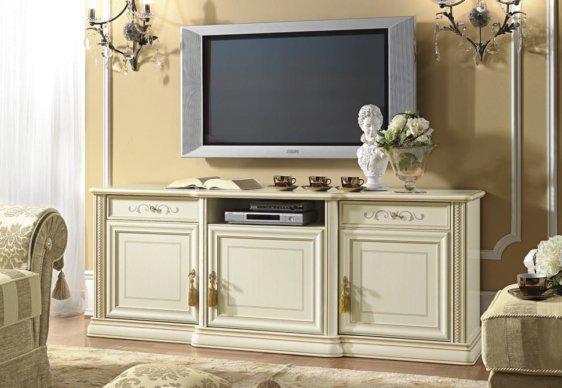 Έπιπλο Τηλεόρασης Με ή Χωρίς Ξύλινο Πάνελ CG-131573