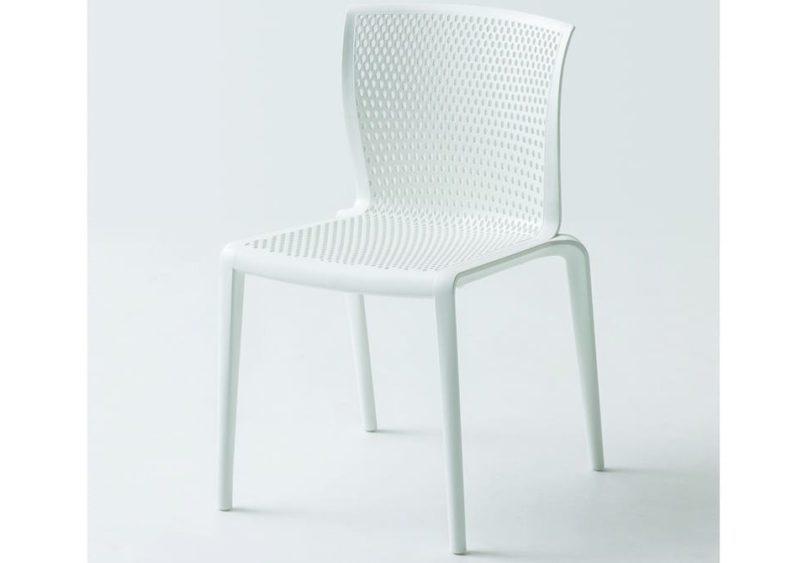 Καρέκλα με Διάτρυτο Πλέγμα σε Πλάτη και Κάθισμα Spyker AG-220492