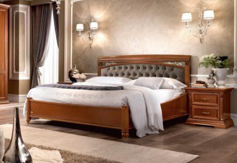 Υπέρδιπλο Ιταλικό Κρεβάτι με Καπιτονέ Κεφαλάρι CG-050489