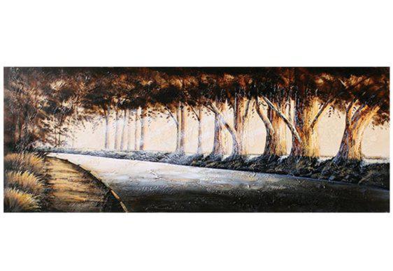 Πίνακας με δρόμο στο δάσος 60X160 Μ-210600