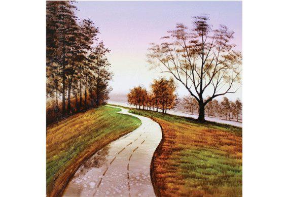 Πίνακας βροχερό απόγευμα Μ-210597