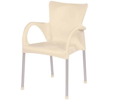 Κομψή Πολυθρόνα από Technopolymer και Αλουμίνιο AG-220486