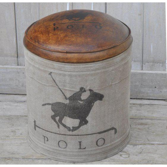 Σκαμπό Στρογγυλό Polo Η-315125