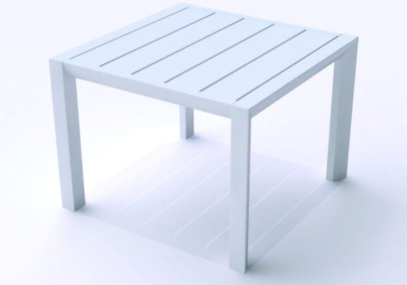 Τραπεζάκι Εξωτερικού Χώρου Αλουμινίου και Fiber Glass AG-222024