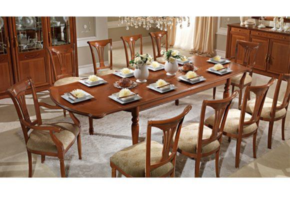 Μεγάλο Τραπέζι Φαγητού με Δύο Επεκτάσεις CG-122076