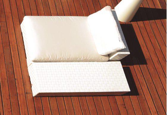 Ξαπλώστρα Κρεβάτι Αλουμινίου με Τραπέζι AG-222049