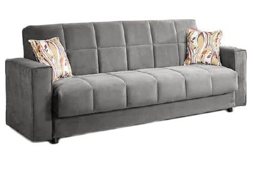 Καναπές Διθέσιος Υφασμάτινος με Μπράτσα Φ-110081