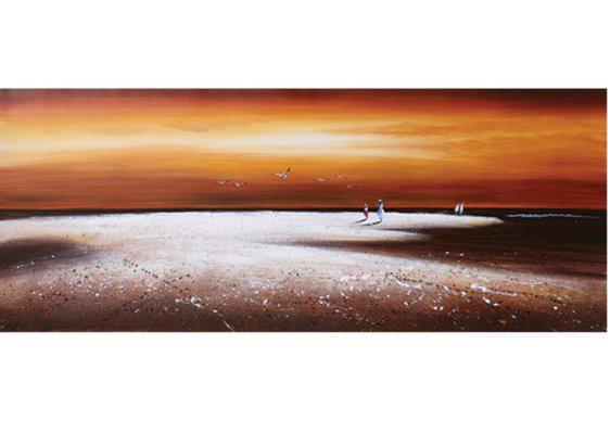 Ηλιοβασίλεμα στην άμμο 60Χ150 Μ-210615