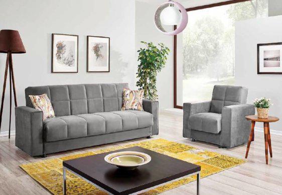 Τριθέσιος Καναπές Κρεβάτι σε Τρία Χρώματα Φ-105036