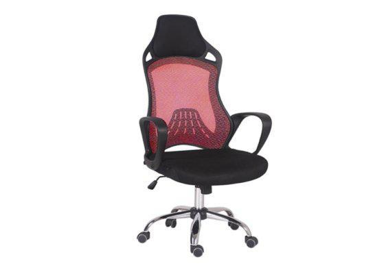 Καρέκλα Γραφείου από Mesh με Όμορφο Σχέδιο V-080410