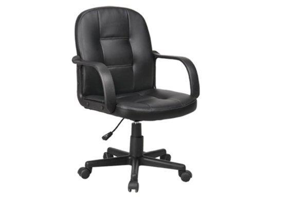 Αναπαυτική Καρέκλα Γραφείου από PVC και Nylon V-080420