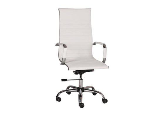 Καρέκλα Γραφέιου Ρυθμιζόμενη από Δερματίνη V-080411