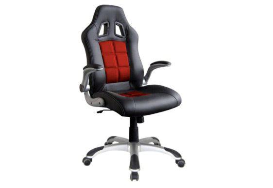 Εντυπωσιακή Καρέκλα Bucket με Πτυσσόμενα Μπράτσα Ζ-080441
