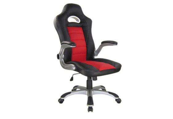 Gaming Καρέκλα Γραφείου Bucket από Δερματίνη Ζ-080437