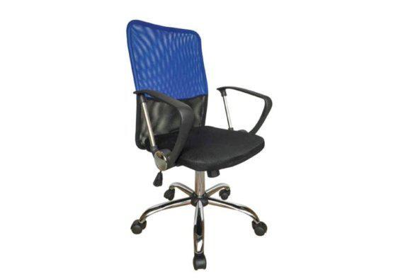 Καρέκλα Γραφείου με Μπράτσα από Mesh Ύφασμα 080431