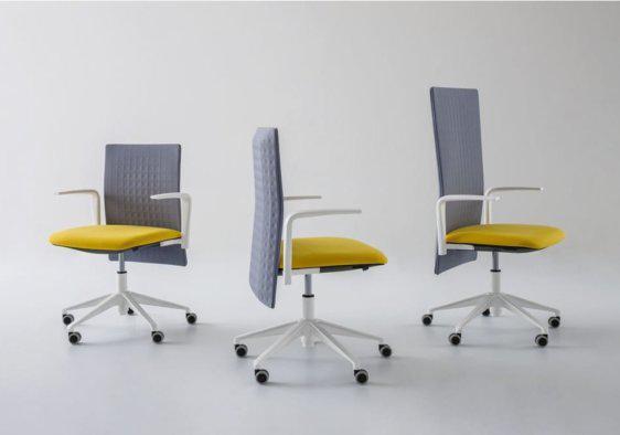 Καρέκλα Γραφείου με Ηχομονωτική Ρυθμιζόμενη Πλάτη AG-080402