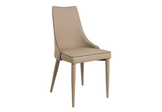 Καρέκλα Ντυμένη Ολόκληρη με Τεχνόδερμα V-135154