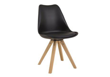 Καρέκλα από Πολυπροπυλένιο και Ξύλο Οξιάς V-135153