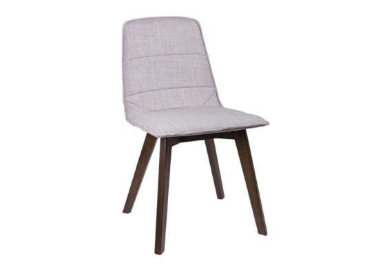 Ξύλινη Καρέκλα με Υφασμάτινη Ταπετσαρία V-135144