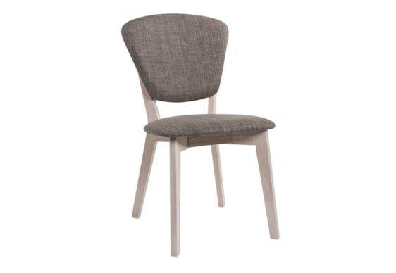 Καρέκλα Ξύλινη με Υφασμάτινη Ταπετσαρία V-135149