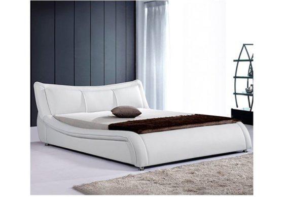 Μοντέρνο Κρεβάτι Ντυμένο με Δερματίνη V-050495