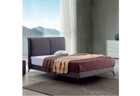 Αναπαυτικό Κρεβάτι με Επένδυση από Ύφασμα V-050492
