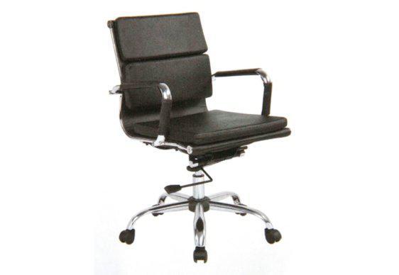 Διευθυντική Πολυθρόνα Γραφείου σε Μαύρο Χρώμα 080447