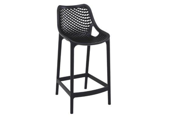 Σκαμπό για Μπαρ με Διάτρητη Πλάτη και Κάθισμα 401093