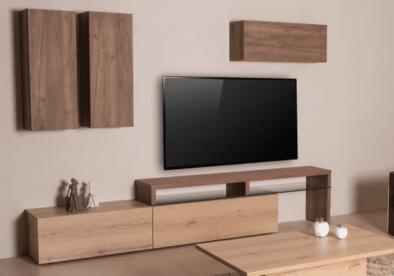 Σύνθεση με Βάση Τηλεόρασης με Κρύσταλλο Α- 131581