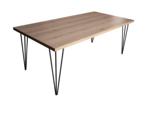 Τραπέζι με Μεταλλικά Πόδια 160,180,200Χ90 Α-131244