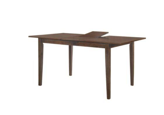 Ανοιγόμενο Τραπέζι από MDF με Πόδια από Ξύλο Οξιάς V-122084