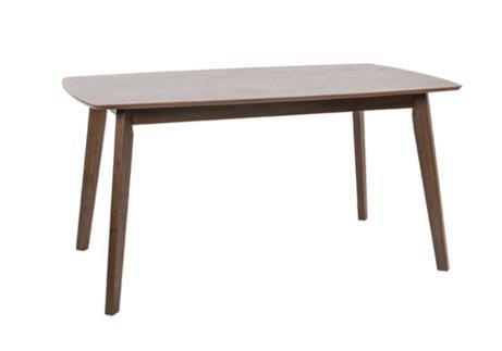 Τραπέζι από MDF με Πόδια Οξιάς σε Γήινες Αποχρώσεις V-122085