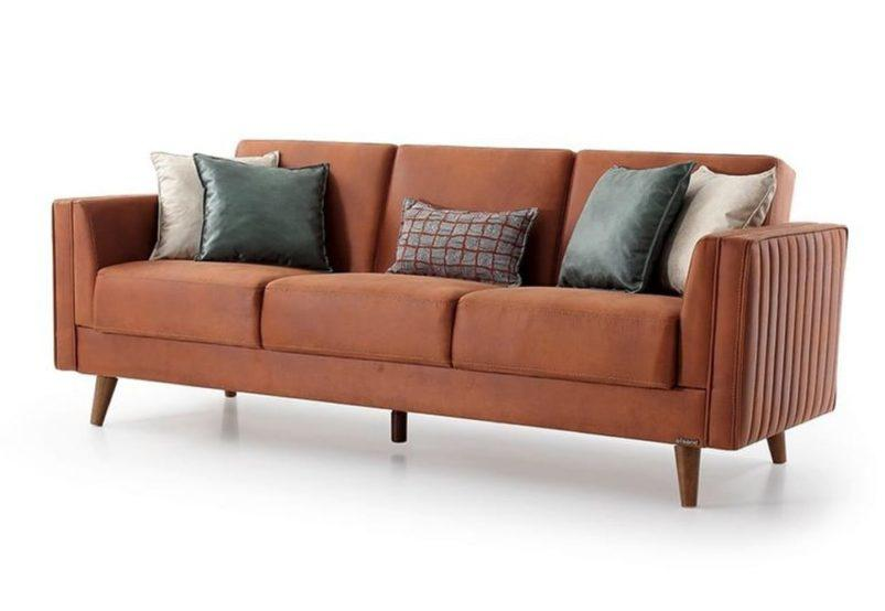 Ρετρό Ανοιγόμενος Καναπές Κρεβάτι Φ-105046