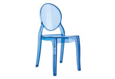 Διάφανη Καρέκλα από Πολυκαρμπονικό Υλικό σε Διάφορα Χρώματα Z-222076