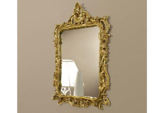Χρυσός Κλασικός Περίτεχνος Καθρέφτης CG-330122