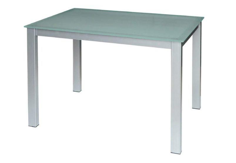 Τραπέζι με Σχέδιο και Γυαλί Ασφαλείας σε Μπεζ Χρώμα 140225