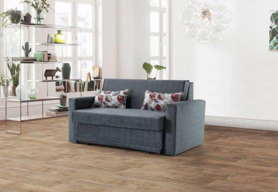 Διθέσιος Καναπές Κρεβάτι με Αποθηκευτικό Χώρο Φ-105057